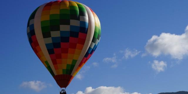 【27日早朝】熱気球体験